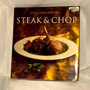 William Sonoma Steak & Chops hardcover cook book